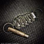 Tally Bullet Keychain